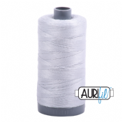 Aurifil 28 Cotton Thread - 2600 (Pale Grey)